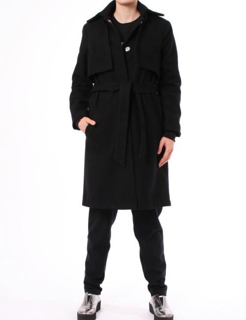 WOLLMANTEL TIME COAT RISE