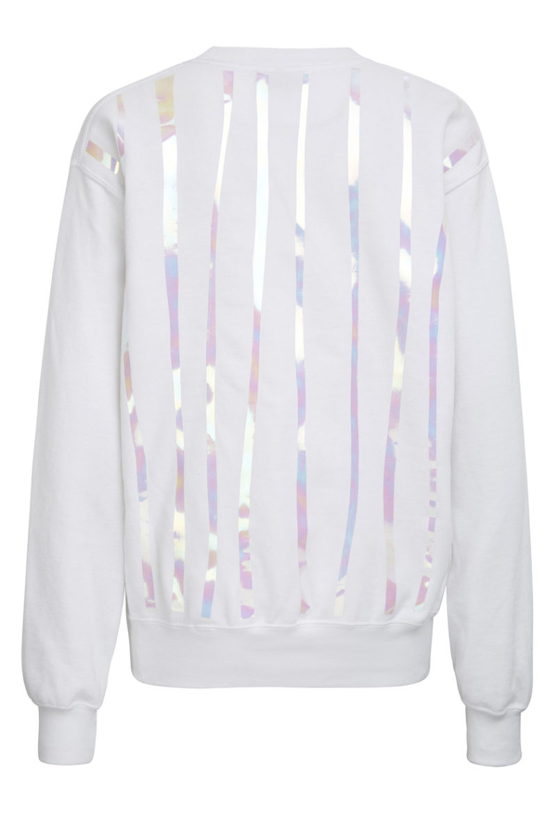 Pullover Holo weiß 2
